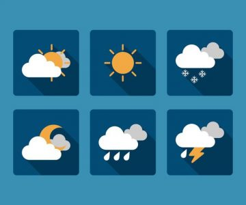 vector-weather-icon-set